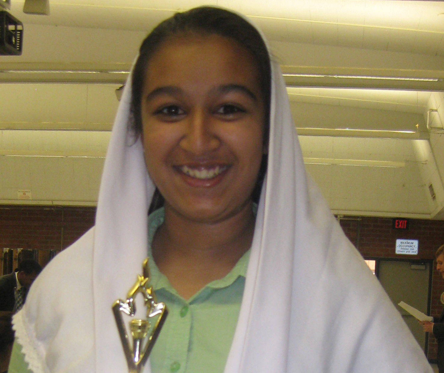 Zainab Rangwala is another member of the team's successful Student Congress squad. Look for her to be bringing home more trophies as the month's unfold!