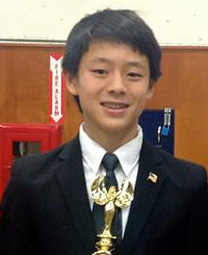 Team Captain: In the 2013-14 season, Albert Tang probably earned more trophies than any other freshman in El Camino Real history.  He was successful in a variety of events last year and has started out his sophomore year fairly strong as a Varsity Student Congress Finalist in the highly competitive Jack Howe Long Beach Tournament.