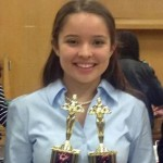 Team Captain: Although she doesn't load up on points monthly in the points-rich Student Congress event, senior Emily Mercer has made her mark by earning trophies in a great variety of events (Parliamentary Debate, Original Advocacy, Duo Interpretation, Thematic Interpretation, Student Congress, and Impromptu). This fall Emily was able to parlay skills honed in these competitions for use in the courtroom and ended up being the top scoring defense attorney on the school's Mock Trial team this year. When the fall semester of her senior year came to a close, she, along with Marlon, Shawn, and Hilda ended up in the top 10 in two MVP lists for the Tri-County Forensic League, most Open points in League competition, most Open points in Invitational competitions.