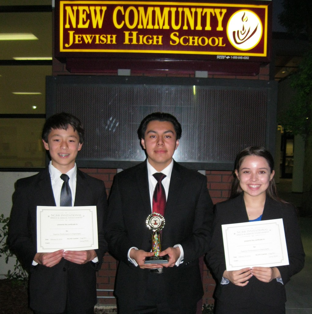 Marlon led the team with a 1st Place finish in DI and Emily (3rd) and Albert (4th) led a solid Elco finish in Impromptu