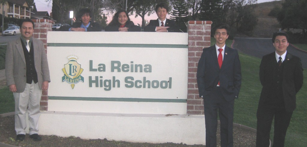 All five of the El Camino Real Congress competitors made it to the Semi-Finals Round.
