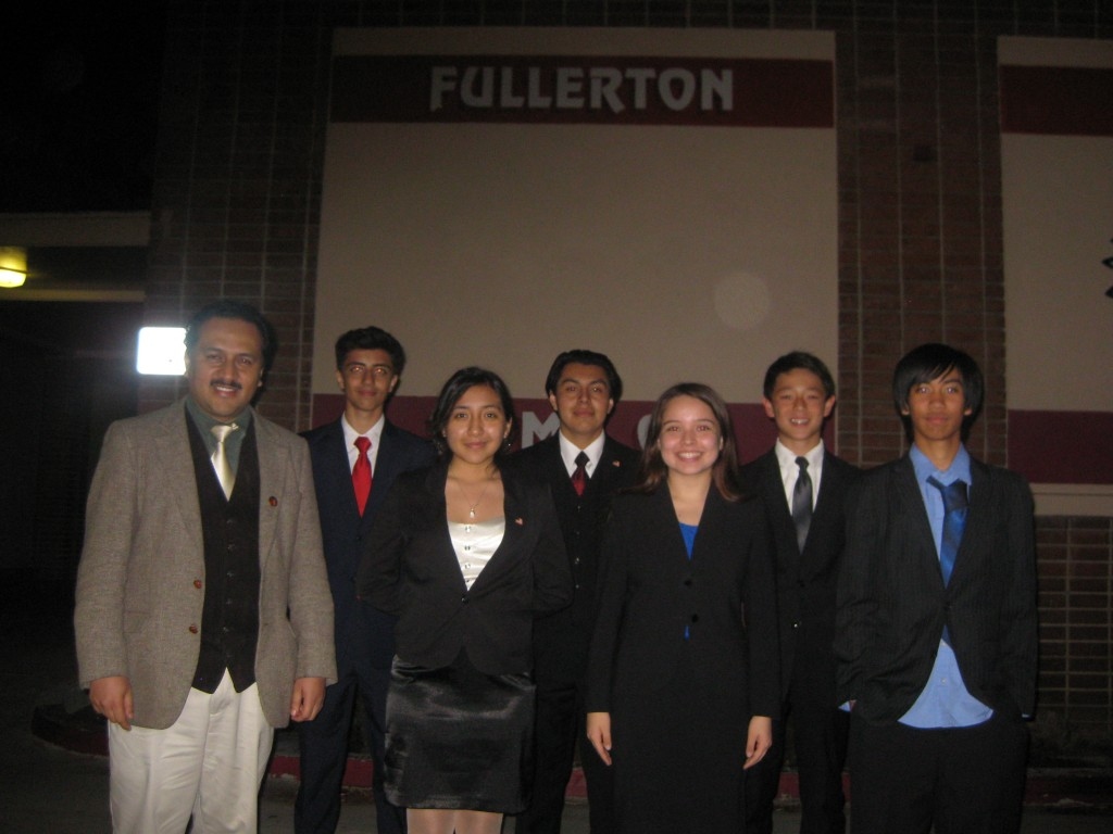 At the National Qualifier competition, the team's most significant were the Student Congress debates by Marlon Poroj and Shawn Haq.