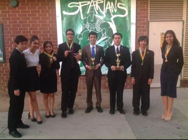 El Camino Real continues to make its mark in Student Congress!