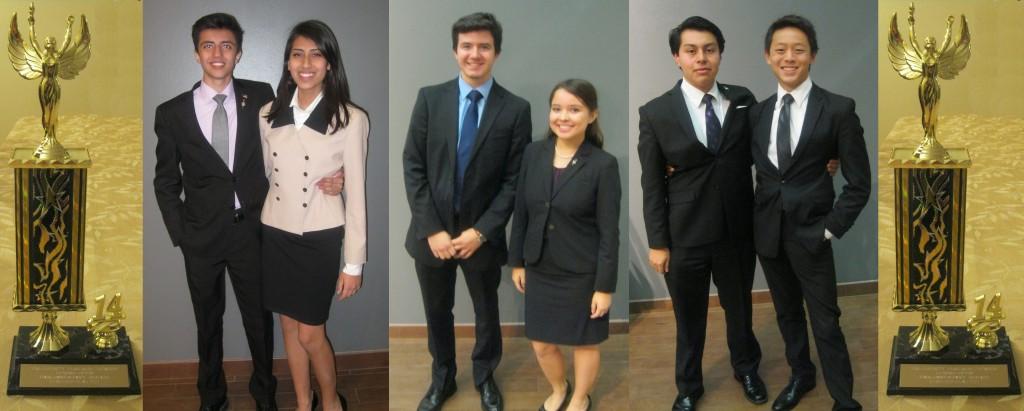 Shawn Haq & Madinah Najib; Teddy Yerxa & Emily Mercer; and Marlon Poroj & Albert Tang